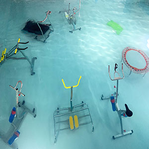 Circuit training centre aquatique Reims