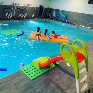 reouverture piscine enfant covid